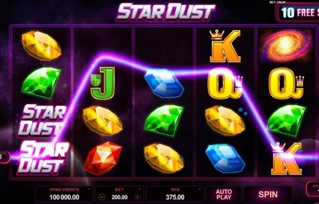 sci-fi casino slots star dust